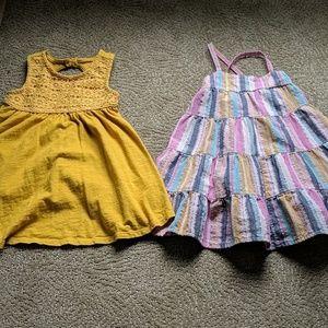 2 adorable summer dresses EUC